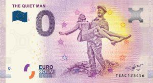 The Quiet Man Commemorative 0 Euro Banknote