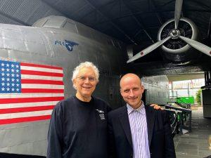David Brown and Peter Schneider